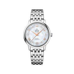 Omega De Ville Prestige Women's 32.7mm Mother-Of-Pearl Watch in Stainless Steel , , default
