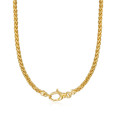 Italian Andiamo 14kt Yellow Gold Necklace, , default