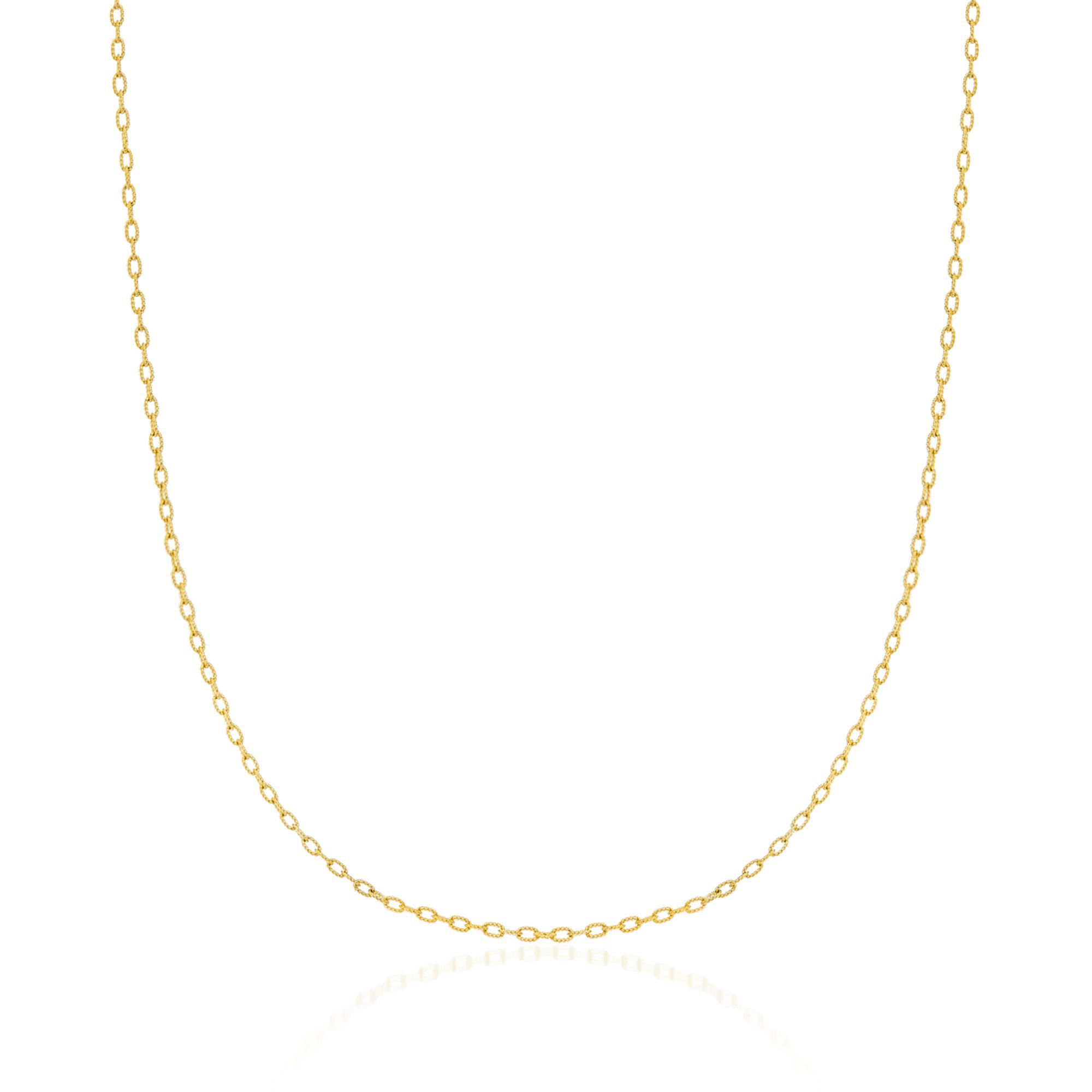 14K Yellow Gold Not older just better Pendant on an Adjustable 14K Yellow Gold Chain Necklace
