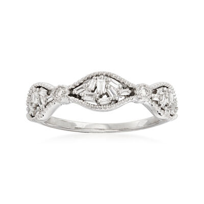 .20 ct. t.w. Diamond Cluster Ring in 14kt White Gold, , default