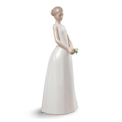 "Lladro ""Wedding Day"" Porcelain Figurine, , default"