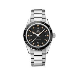 Omega Seamaster Men's 41mm Stainless Steel Watch With Black Dial , , default