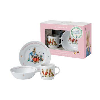"Wedgwood ""Peter Rabbit"" Child's 3-pc. Porcelain Dinnerware, , default"