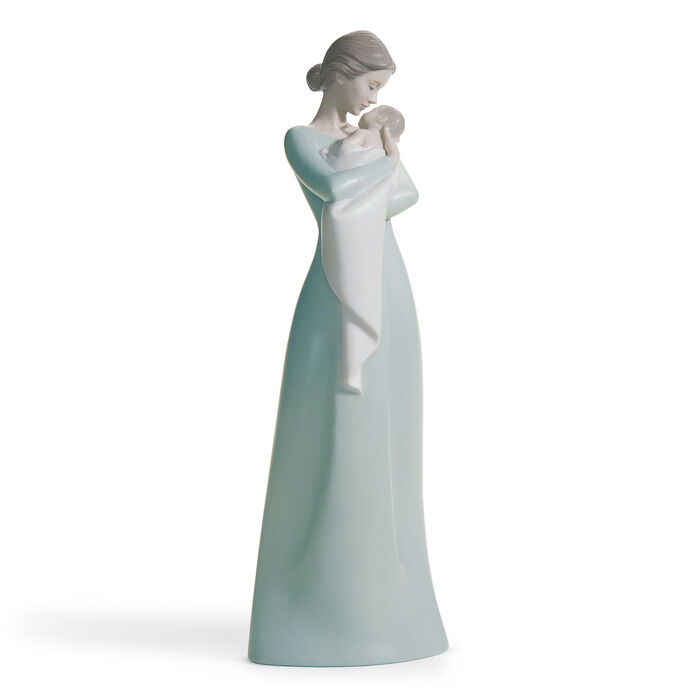 "Lladro ""Mother's Fond Embrace"" Porcelain Figurine, , default"