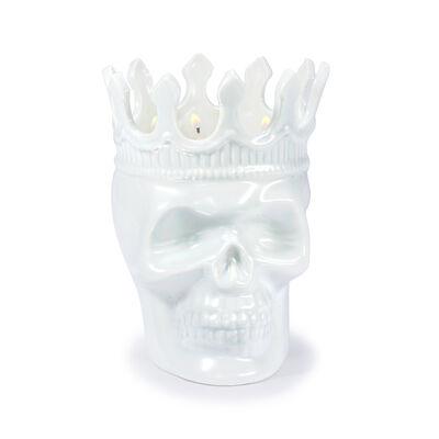 """Thompson Ferrier """"Monte Cristo Rose De Vents Louise"""" White Skull Candle , , default"""