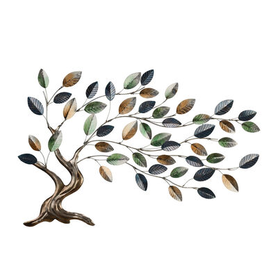 Regal Metallic Tree of Life Wall Decor, , default