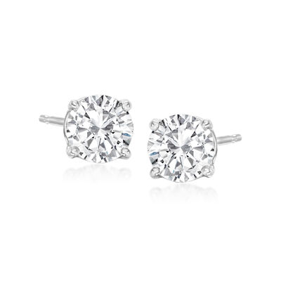 1.00 ct. t.w. Diamond Stud Earrings in Platinum