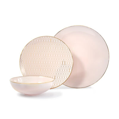 "Lenox ""Trianna"" 12-pc. Service for 4 Blush Dinnerware Set , , default"