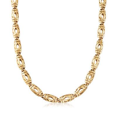C. 1980 Vintage Cartier 18kt Yellow Gold Necklace, , default