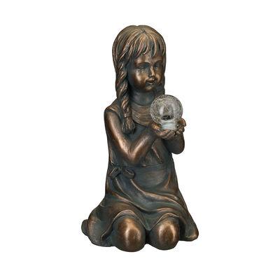"""Regal """"Solar Girl"""" Outdoor Garden Statue, , default"""