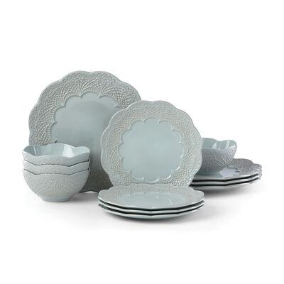 """Lenox """"Chelse Muse Blue"""" 12-pc.Dinnerware Set, , default"""