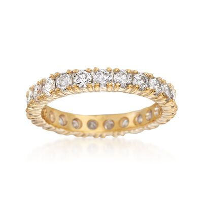 1.90 ct. t.w. Diamond Eternity Band in 14kt Yellow Gold, , default