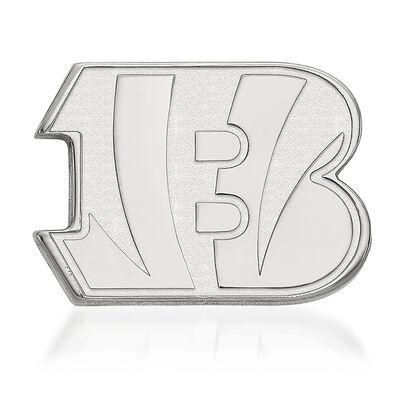 Sterling Silver NFL Cincinnati Bengals Lapel Pin, , default