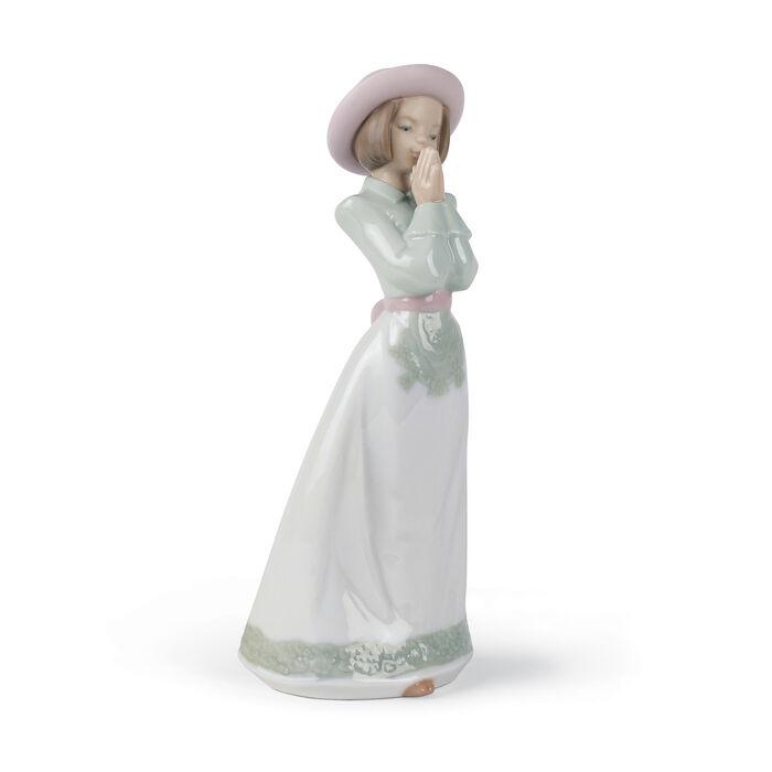 "Nao ""Please Please"" Porcelain Figurine , , default"