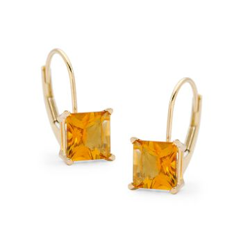 1.94 ct. t.w. Citrine Earrings in 14kt Yellow Gold, , default