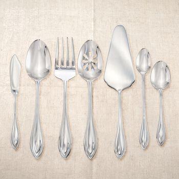 "International Silver ""American Bead"" 18/0 Stainless Steel Flatware, , default"