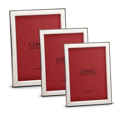 "Cunill Italian Sterling Silver ""Oxford"" Picture Frame, , default"