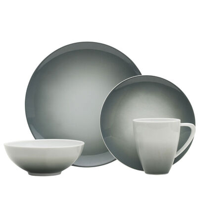 "Mikasa ""Naya"" Gray 16-pc. Service for 4 Dinnerware Set, , default"