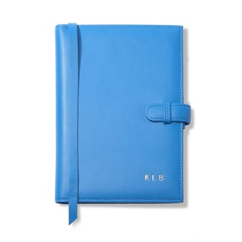 Leather Three-Initial Journal, , default