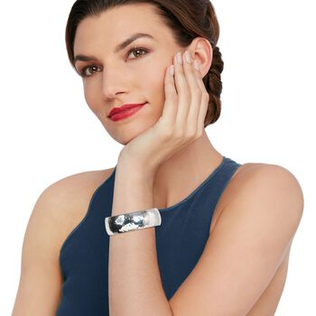 "Zina Sterling Silver ""Sahara"" Cuff Bracelet. 7"", , default"