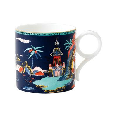 "Wedgwood ""Wonderlust"" Blue Pagoda 9-Oz Mug, , default"
