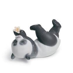 "Lladro ""A Joyful Panda"" Porcelain Figurine, , default"