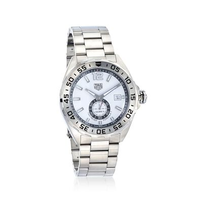 TAG Heuer Formula 1 Automatic Men's 43mm Stainless Steel Watch - White Dial, , default
