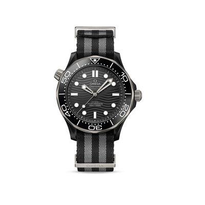Omega Seamaster Professional Diver Men's 44mm Automatic Titanium Watch