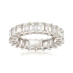 5.00 ct. t.w. Emerald-Cut Diamond Eternity Band in Platinum, , default