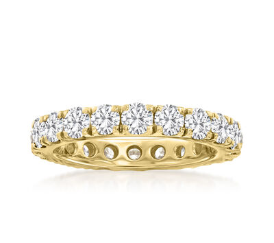 3.00 ct. t.w. Diamond Eternity Band in 14kt Yellow Gold