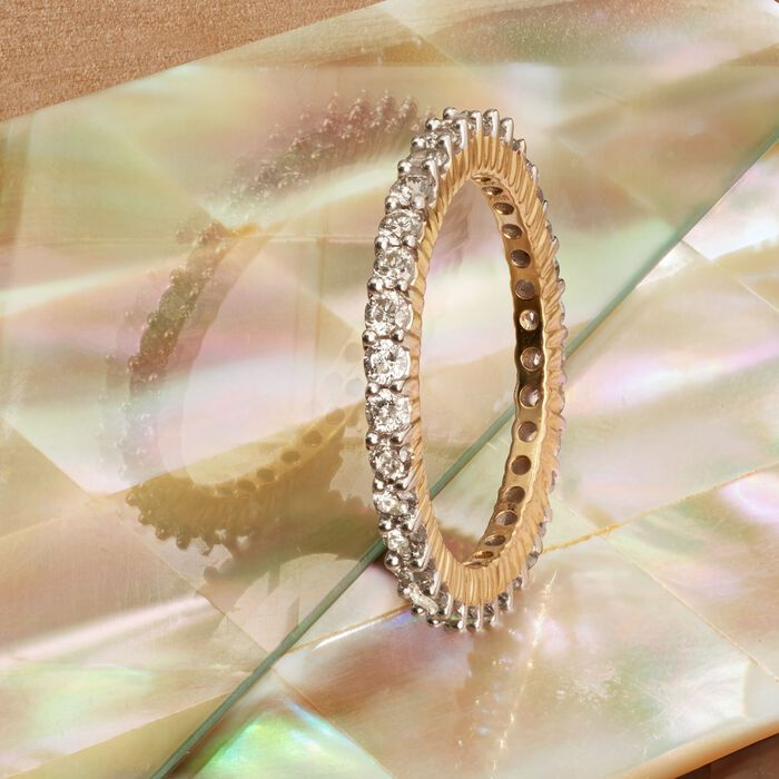 1.00 ct. t.w. Diamond Eternity Band in 14kt Yellow Gold