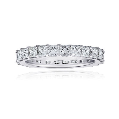 2.75 ct. t.w. Princess-Cut Diamond Eternity Band in 14kt White Gold, , default