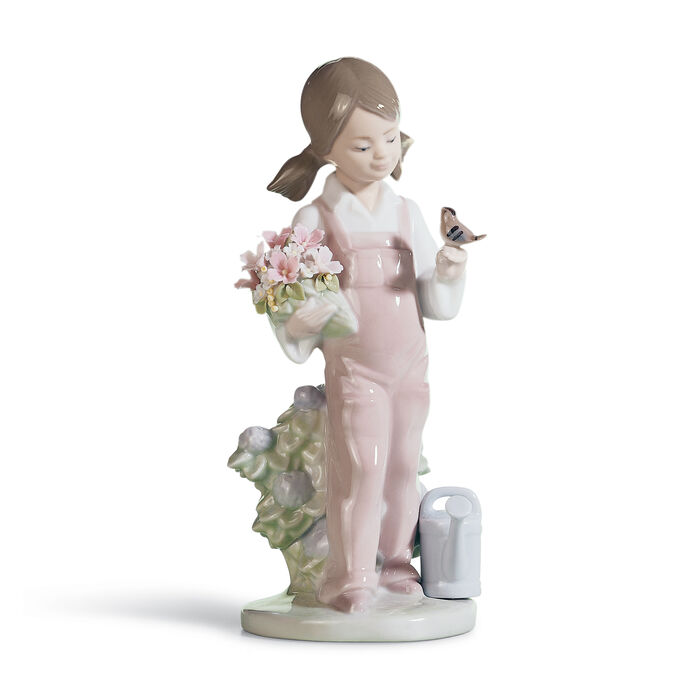 """Lladro """"Spring"""" Porcelain Figurine, , default"""