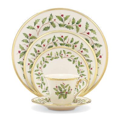 """Lenox """"Holiday"""" 5-pc. Place Setting, , default"""