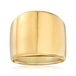 Italian Andiamo Graduated Band Ring in 14kt Yellow Gold, , default