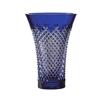 "Waterford Crystal ""Treasures of the Sea"" Alana Blue Flared Vase, , default"
