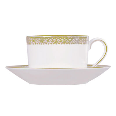 "Vera Wang for Wedgwood ""Lace Gold"" Tea Set, , default"