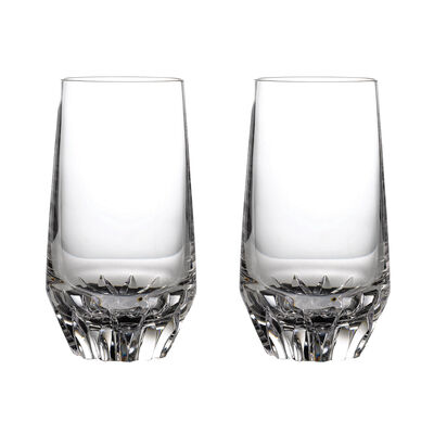 "Waterford Crystal ""Irish Dog Madra"" Set of Two Highball Glasses, , default"