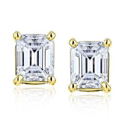 1.40 ct. t.w. Diamond Stud Earrings in 14kt Yellow Gold, , default