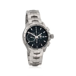 TAG Heuer Link Men's 44mm Chronograph Stainless Steel Watch  , , default