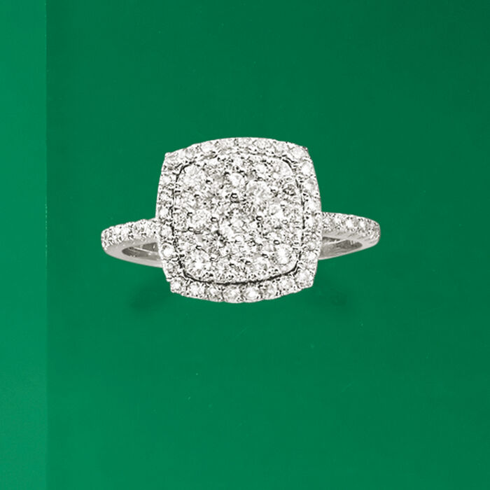 1.00 ct. t.w. Diamond Ring in 14kt White Gold