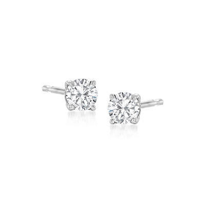 .25 ct. t.w. Diamond Stud Earrings in 14kt White Gold