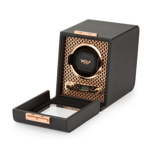 Wolf 'Axis' Copper-Plated Steel Single Watch Winder #524080