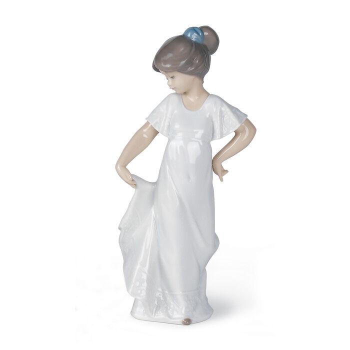 "Nao ""How Pretty"" Porcelain Figurine, , default"