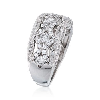 1.40 ct. t.w. Diamond Ring in 18kt White Gold, , default