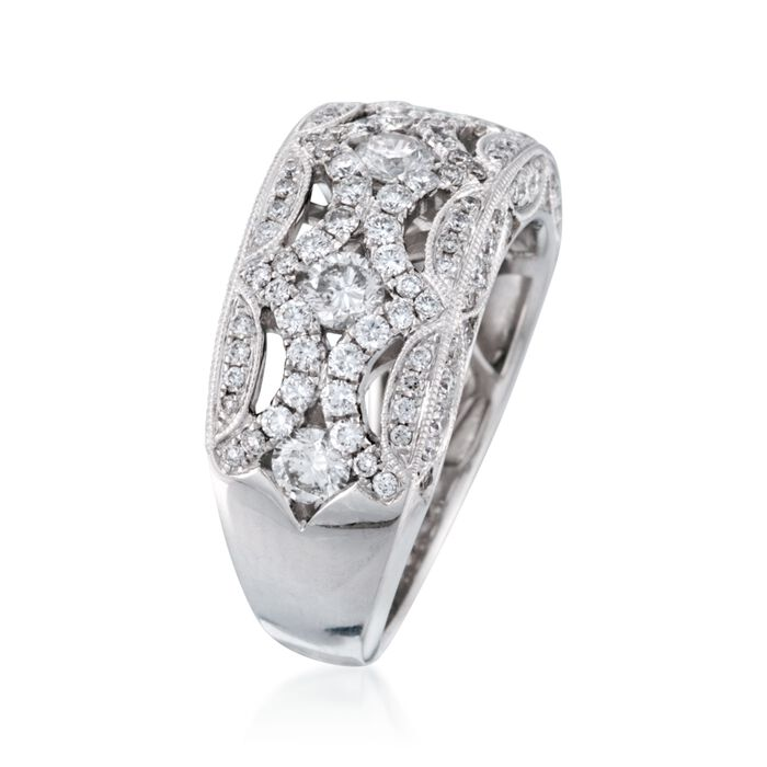 1.40 ct. t.w. Diamond Ring in 18kt White Gold