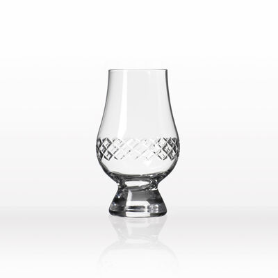 "Rolf Glass ""Diamond"" Set of 4 Scotch Glencairn Glasses"