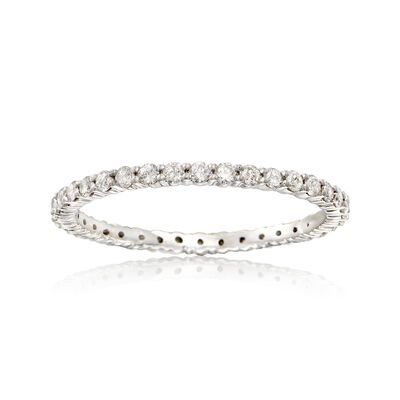 .50 ct. t.w. Diamond Eternity Band in Sterling Silver