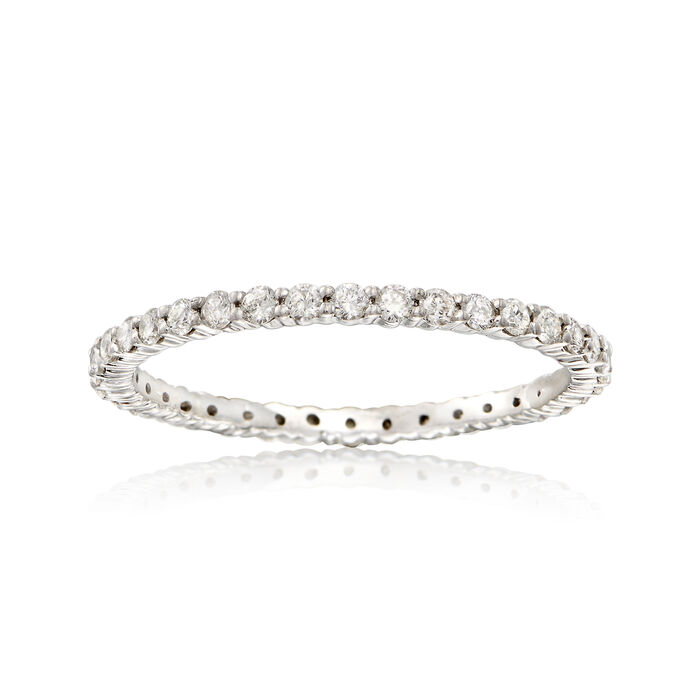 .50 ct. t.w. Diamond Eternity Band in Sterling Silver, , default