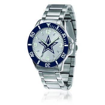 Men's 46mm NFL Dallas Cowboys Stainless Steel Key Watch, , default